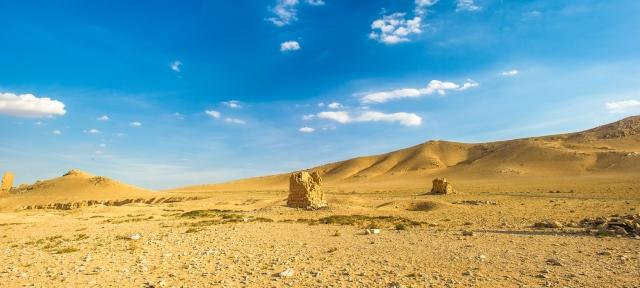 DEsert of Syria, Ruins